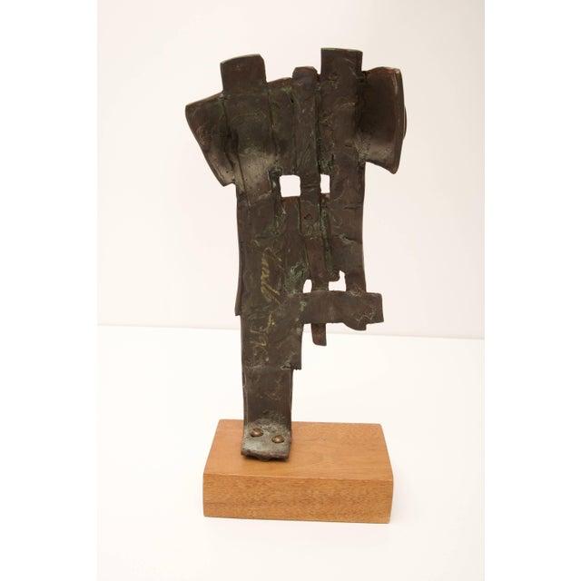 Brutalist Brutalist Nude Female Bronze Sculpture C. 1996 For Sale - Image 3 of 11