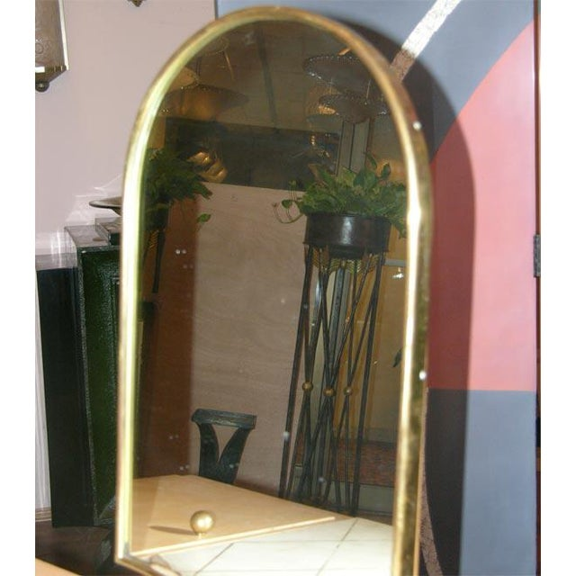 1940s Rare Art Deco Vanity by Maxime Old For Sale - Image 5 of 10