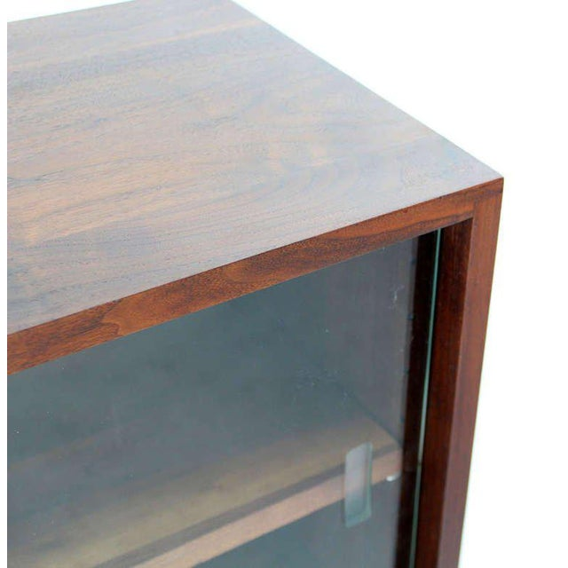 Mid-Century Modern Solid Walnut Hanging Shelf or Bookcase For Sale - Image 4 of 8