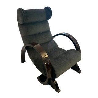 Art Deco Mickey Lounge Chair For Sale