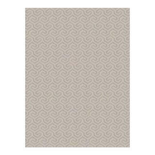 """Fabricut """"Maritime Lagoon"""" in Silver Metallic Fabric - 2 Yards For Sale"""