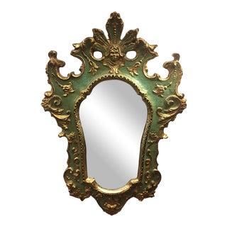 Italian Gilded Accent Mirror