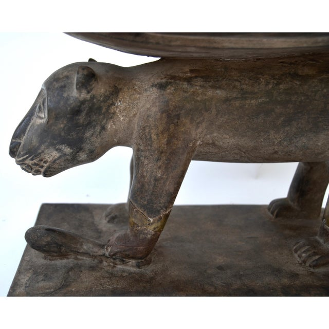 African Ashanti Leopard Stool For Sale In Los Angeles - Image 6 of 10