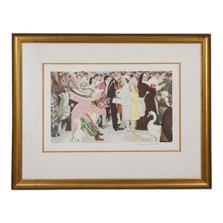 Norman Rockwell Limited Edition Collotype 'Saturday People' For Sale