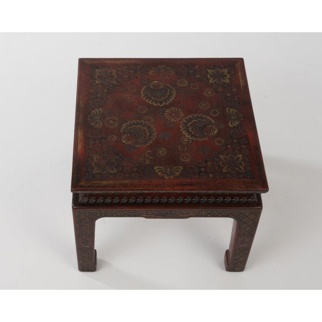 Asian 1950s Chinese John Widdicomb Side Tables - a Pair For Sale - Image 3 of 12