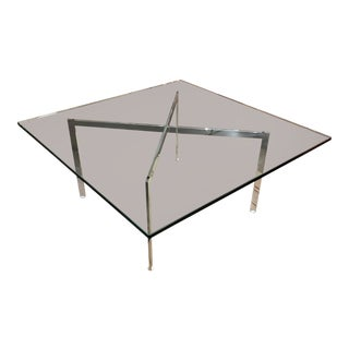 Knoll Studio Ludwig Mies Van Der Rohe Barcelona Coffee Table For Sale