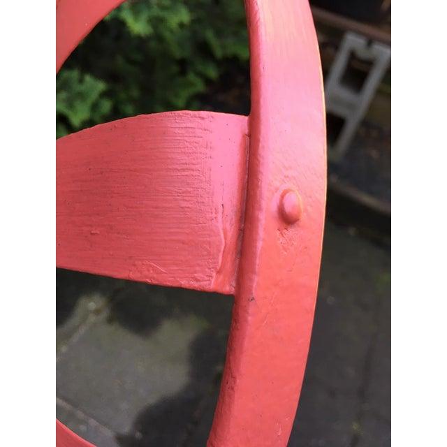 Francois Carré Sunburst Patio Furniture For Sale - Image 9 of 13