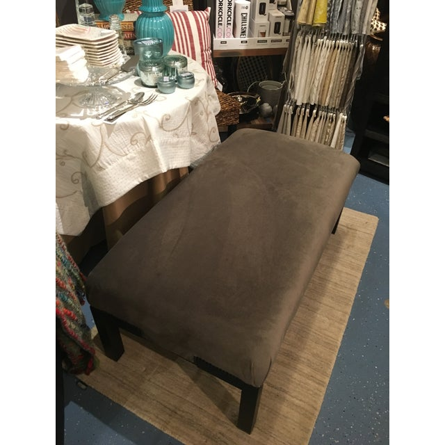 Contemporary Lexington Norfolk Ottoman For Sale - Image 3 of 8