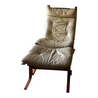 Ingmar Relling for Westnofa Siesta Sling Chair & Ottoman