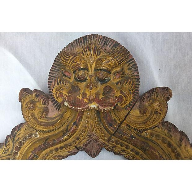 Indian Carved Temple Arch - Image 2 of 6