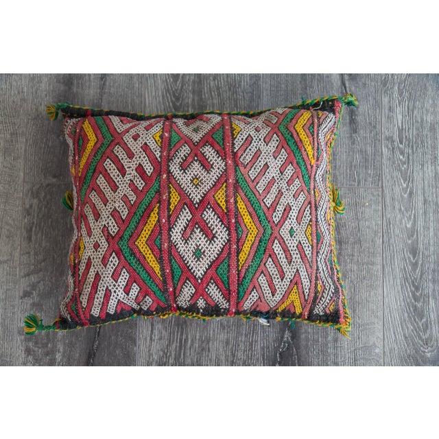Handmade Berber Pillow - Image 2 of 4