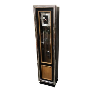 Howard Miller Mid Century Modern Grandfather Clock For Sale