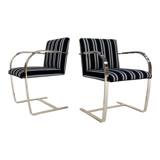 Kule X Forsyth Ludwig Mies Van Der Rohe Brno Chairs - a Pair For Sale