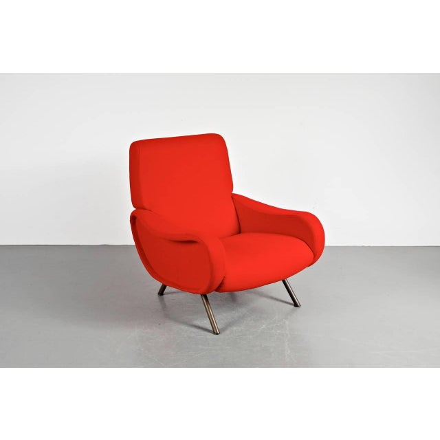 "First Edition ""Lady"" Easy Chair by Marco Zanuso for Arflex, Italy, circa 1950 - Image 2 of 9"