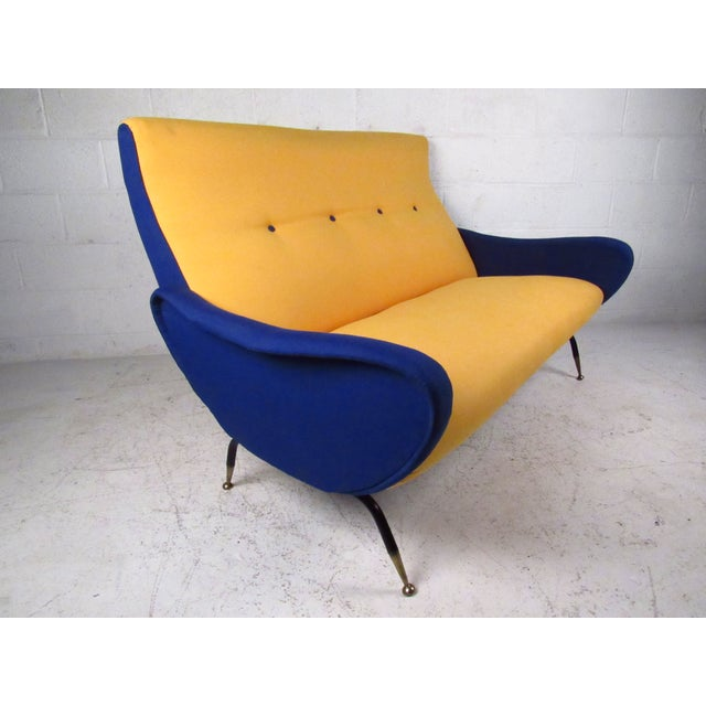 Italian Modern Zanuso-Style Sofa - Image 2 of 9
