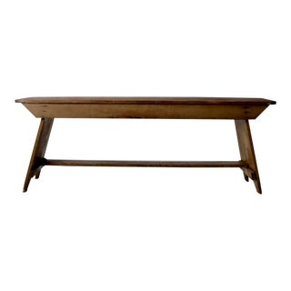 Antique Wooden Bench For Sale