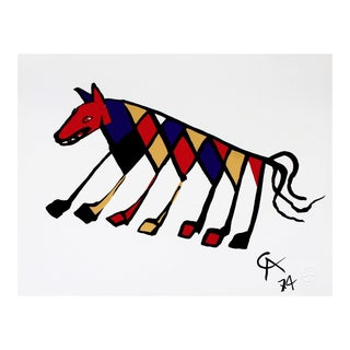 Alexander Calder Beastie (Flying Colors Collection) 1974 For Sale