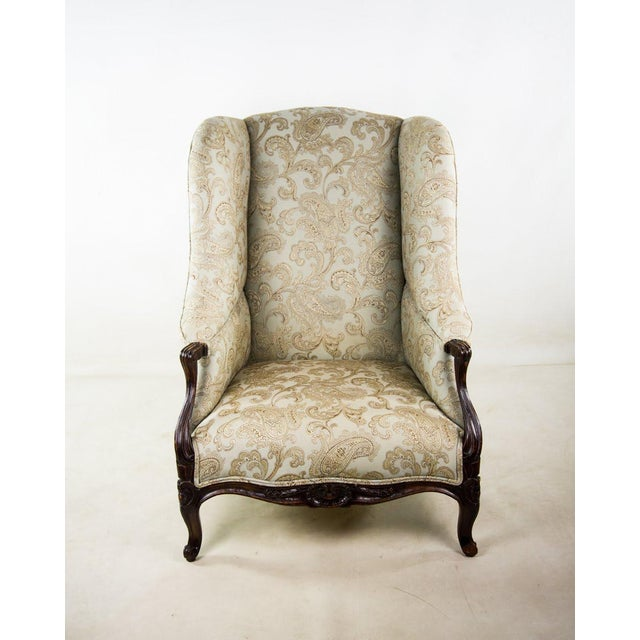 This 19th c. French Louis XV bergere chair is the perfect combination of comfort and antique style. It's brand new...