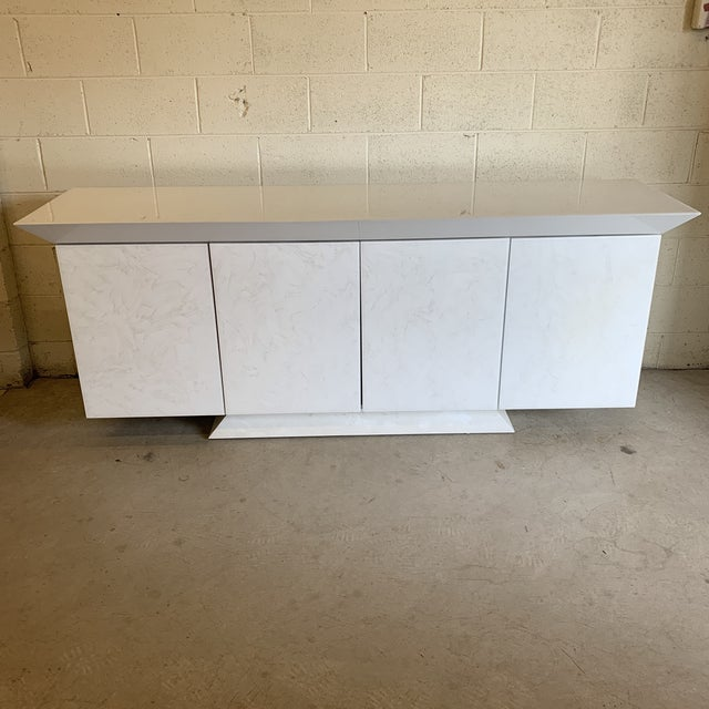 Large Contemporary Credenza For Sale - Image 9 of 9