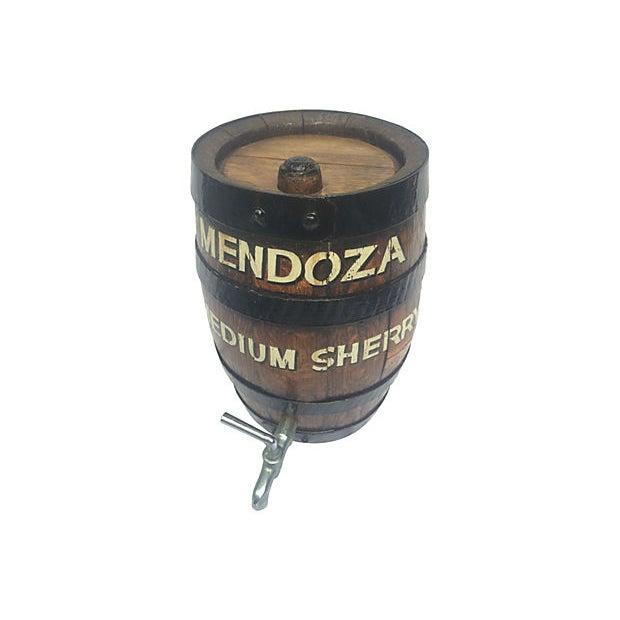 Old English Oak Wine Barrel - Image 1 of 6