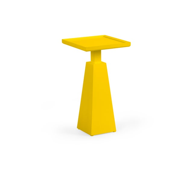 Transitional Casa Cosima Hayes Spot Table, Yolk For Sale - Image 3 of 3