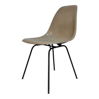 Vintage Mid Century Modern Fiberglass Shell Side Desk Chair