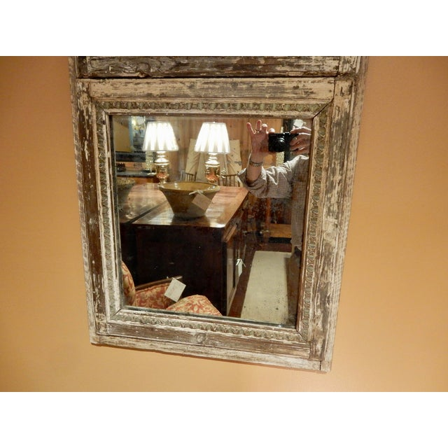 French Provincial Rustic French Provincial Trumeau For Sale - Image 3 of 6