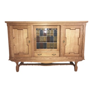 Danish Tiger Oak Buffet