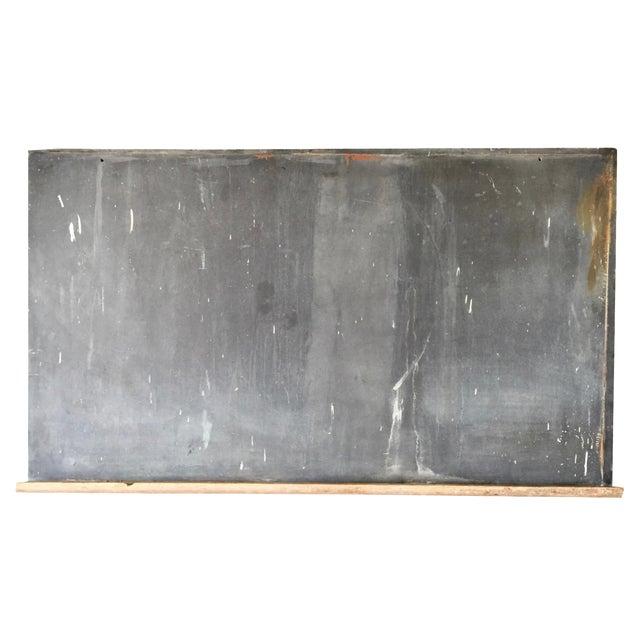 1920s Schoolhouse Slate Chalkboard - Image 1 of 8