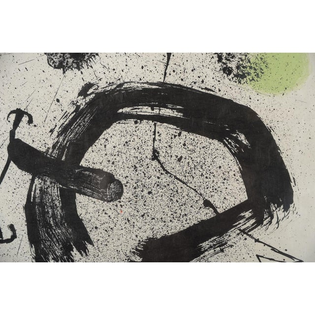 "Joan Miro ""Abstract"" Original Lithograph, Signed For Sale - Image 4 of 10"