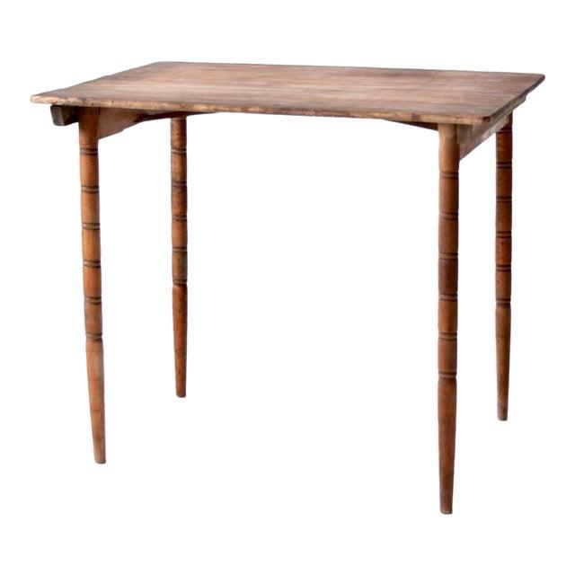 Antique Wooden Folding Table For Sale - Antique Wooden Folding Table Chairish