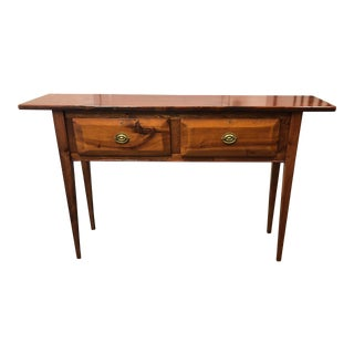 Hunt Board Reproduction Federal Yellow Pine Console For Sale