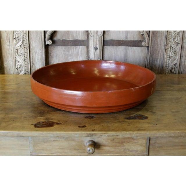 Asian Large Tibetan Fruit Platter For Sale - Image 3 of 5