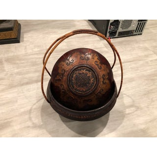 Antique Chinese Lidded Basket Preview