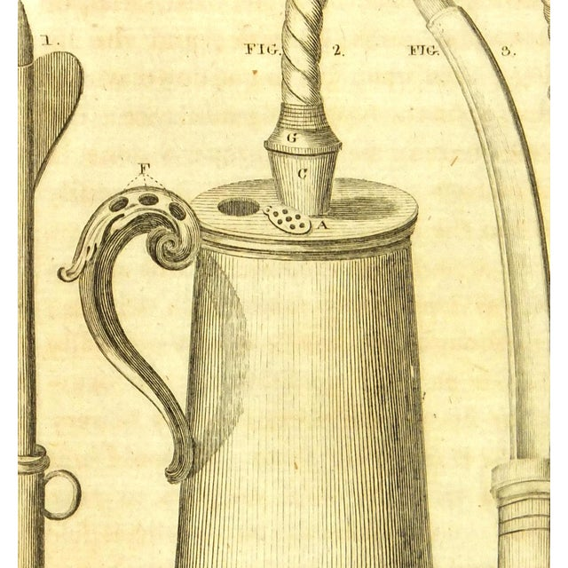 Antique Engraving - Medical Instruments, 1789 - Image 2 of 3