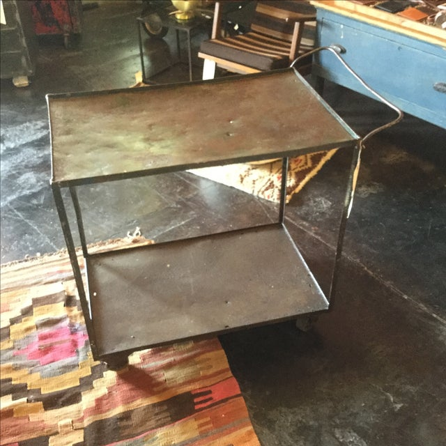 Industrial Bar Cart - Image 10 of 10