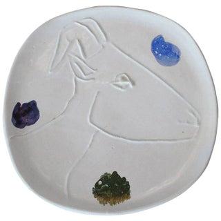 Pablo Picasso Ceramic Plate for Madoura