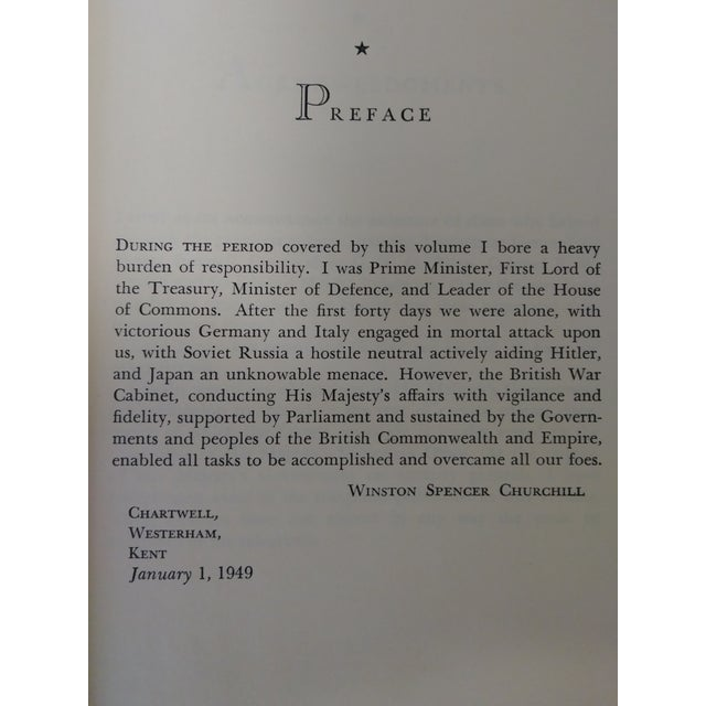 """1940s """"The Second World War-Their Finest Hour"""" by Winston S. Churchill For Sale - Image 5 of 13"""