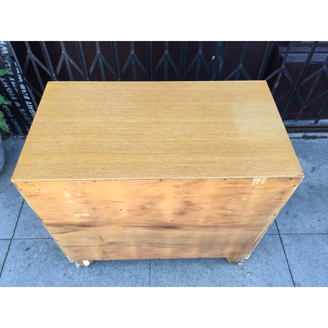 1940s Art Deco Petite Chest of Drawers For Sale - Image 12 of 13