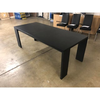 Camerich Modern Artina Gray Oak Dining Table For Sale