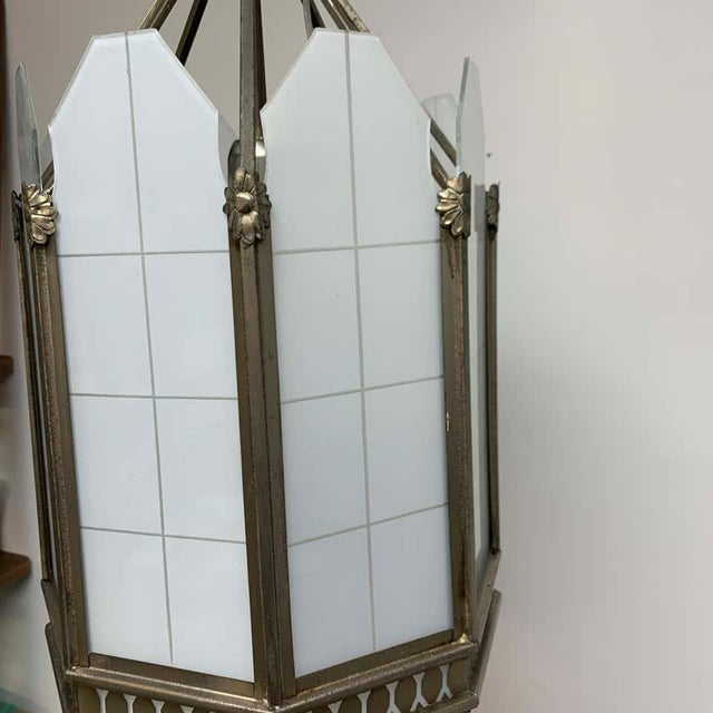 Art Deco Octagon Lantern From the El Cid Theatre, Los Angles For Sale - Image 10 of 11