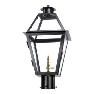 Lantern & Scroll Charleston Post Gas Lantern For Sale