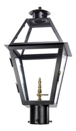 Image of Black Outdoor Post Lighting