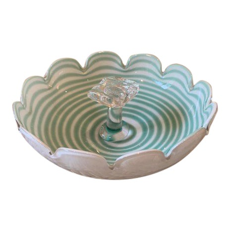 Fratelli Toso Murano Candy Dish For Sale