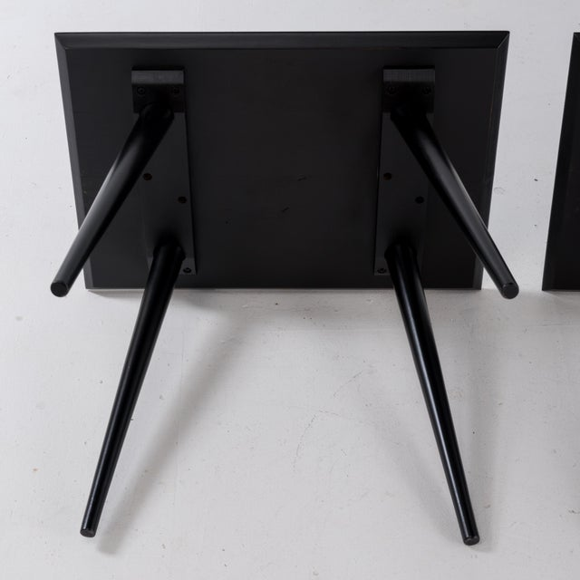 1960s Mid-Century Modern Paul McCobb for Winchendon Plannar Group Side Tables - a Pair For Sale - Image 10 of 13