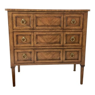 Transitional Pearson Co. Oak Finished Chest of Drawers For Sale