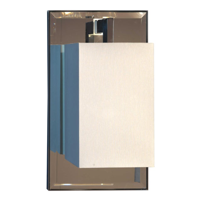 Finishes And Materials : Polished Chrome Body Shade : White Percaline – Gold Lining Source Included : 1 X Halogen Energy...
