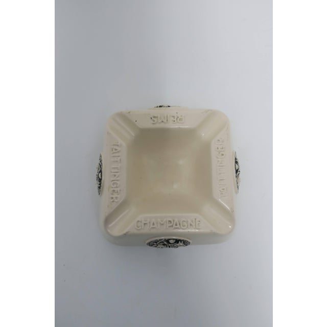 Mid 20th Century French Taittinger Champagne Cigar Ashtray For Sale - Image 5 of 9