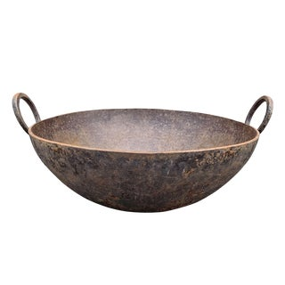 Early 20th Century Wrought Iron Brazier For Sale