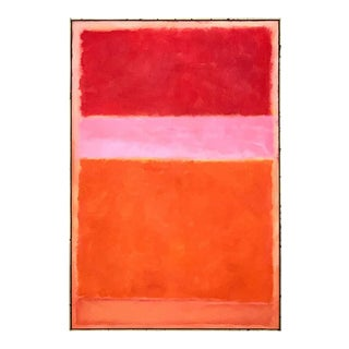 Large Abstract Painting in the Style of Mark Rothko For Sale